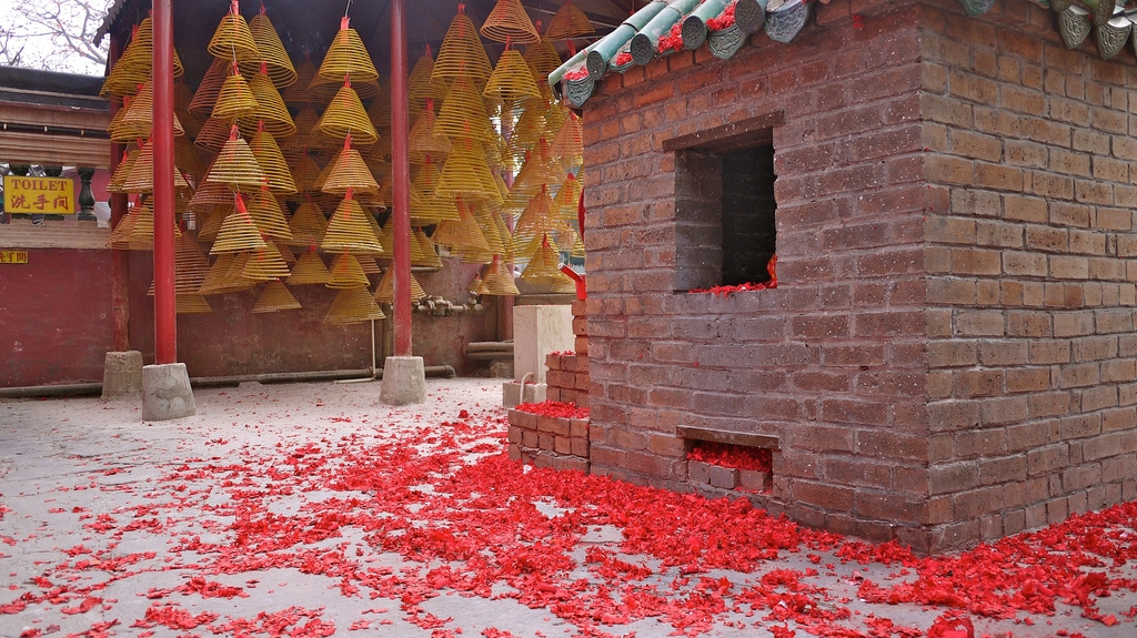 A-Ma Temple Incense Incinerator