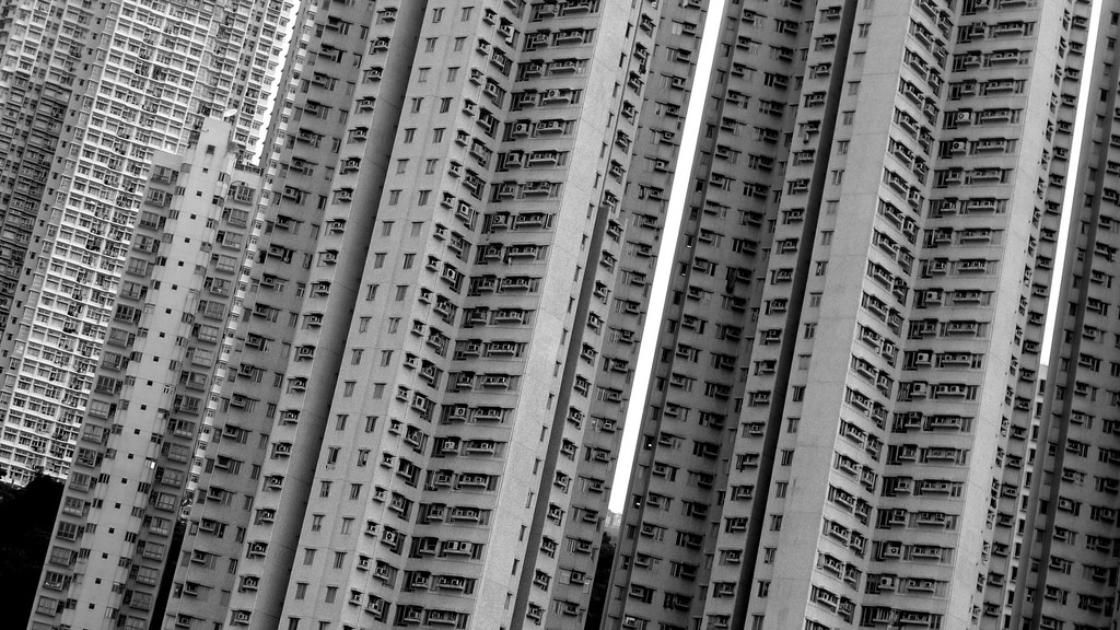 Aberdeen Apartments in Black & White