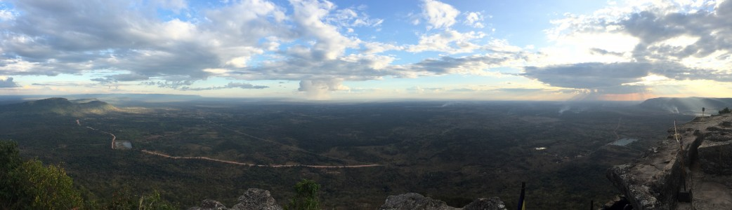 Overlooking the Cambodian Plains from Preah Vihear