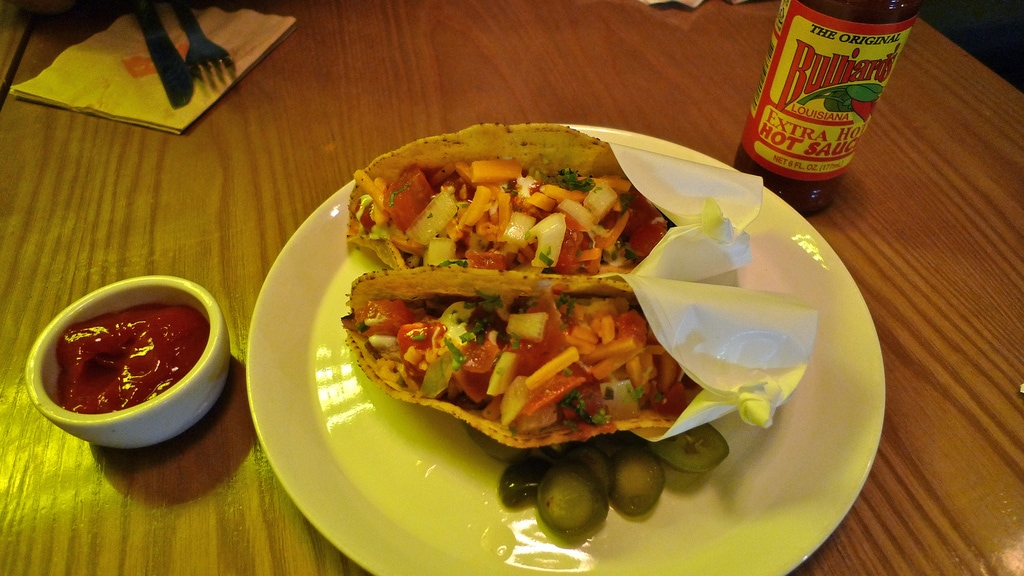 Chicken Taco in Gangnam, Seoul