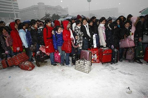 China Under Snow