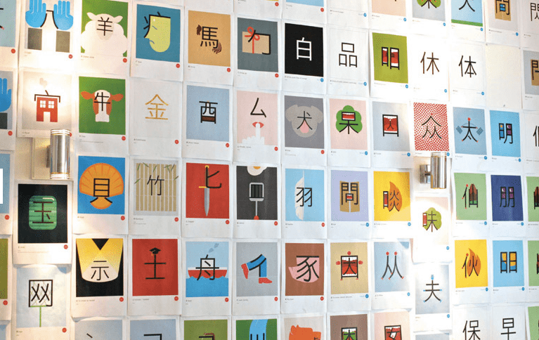 Chineasy Character Designs