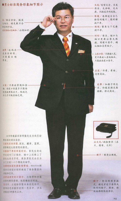 Chinese Business Etiquette Book - Man