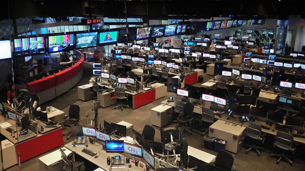 CNN Center Atlanta Newsroom