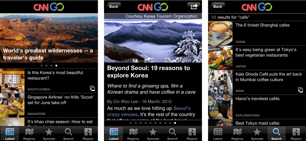CNNGo iPhone App