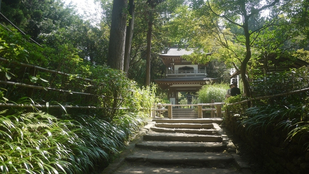 Stairs to Jochi-ji