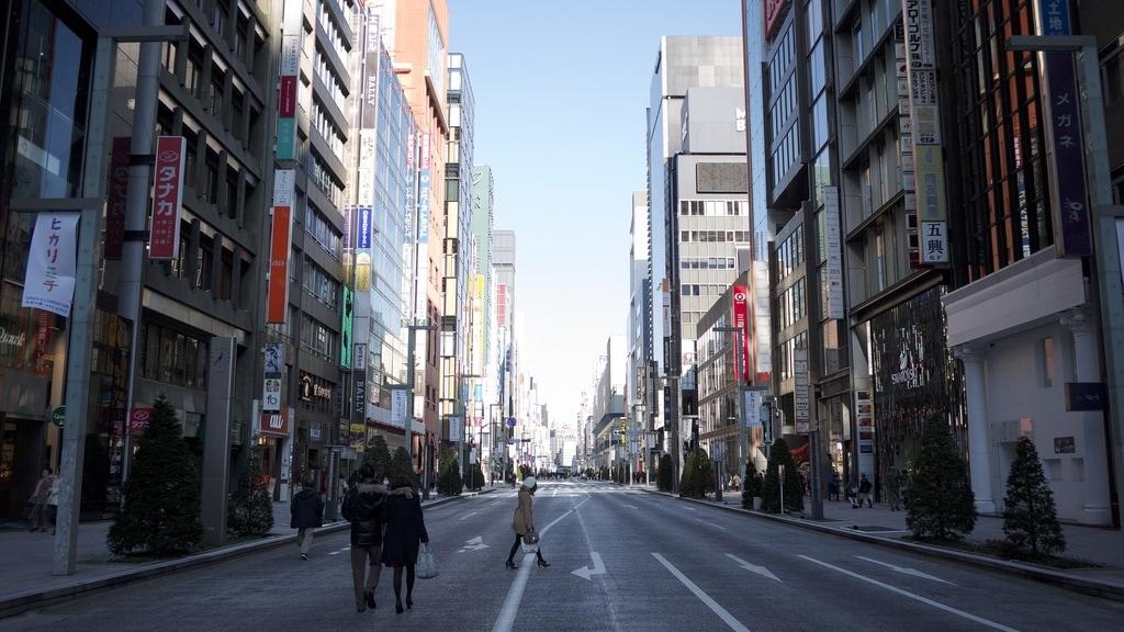 Ginza Desolation