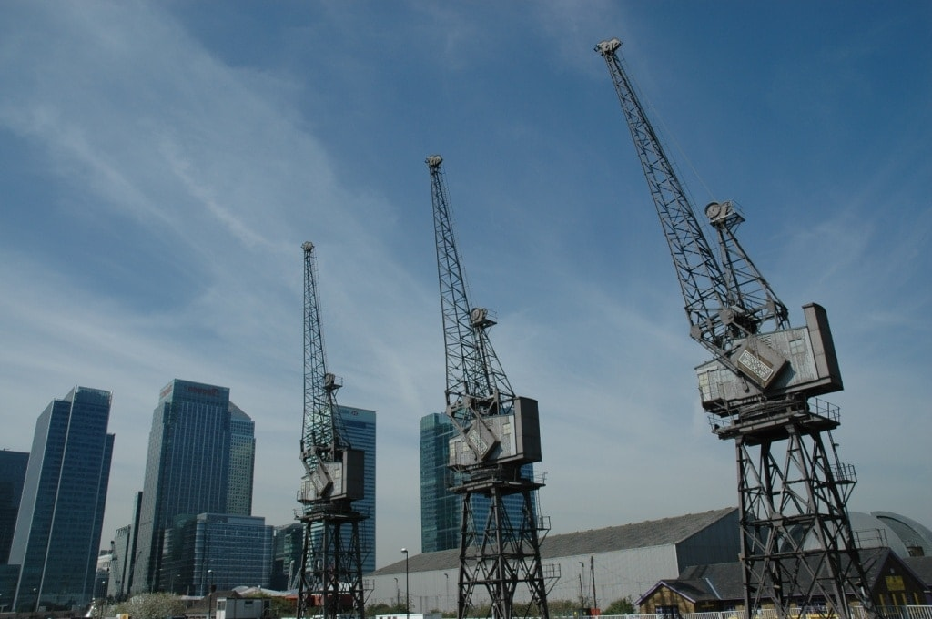Docklands Cranes