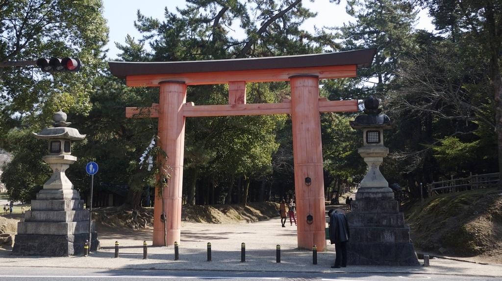 Torii Gate in Nara