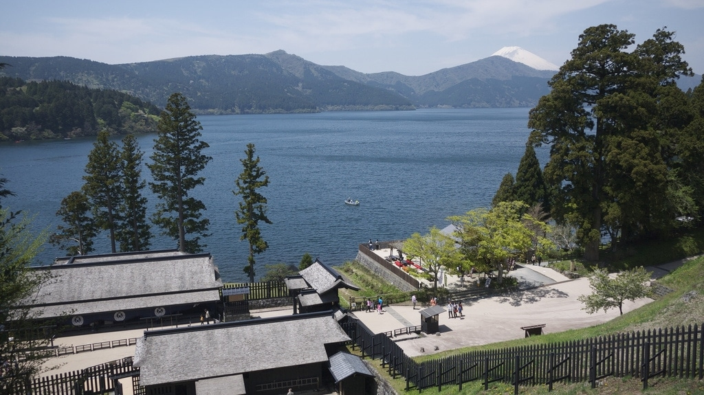 Lake Ashi from Hakone Checkpoint