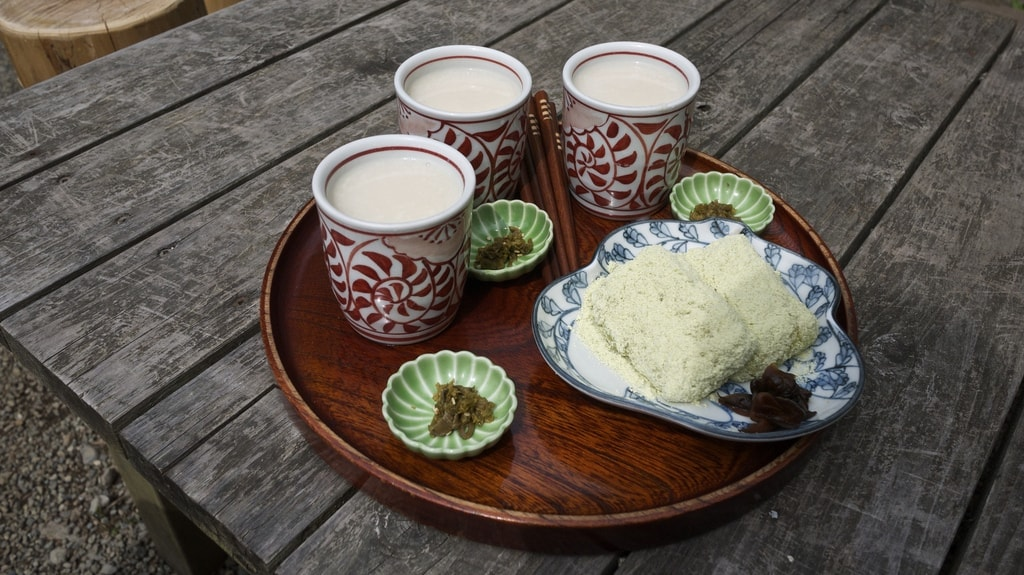 Amazake fermented rice