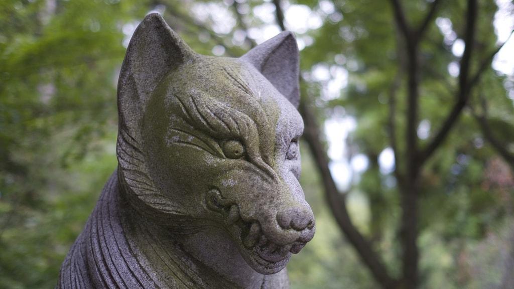 Wolf Statue