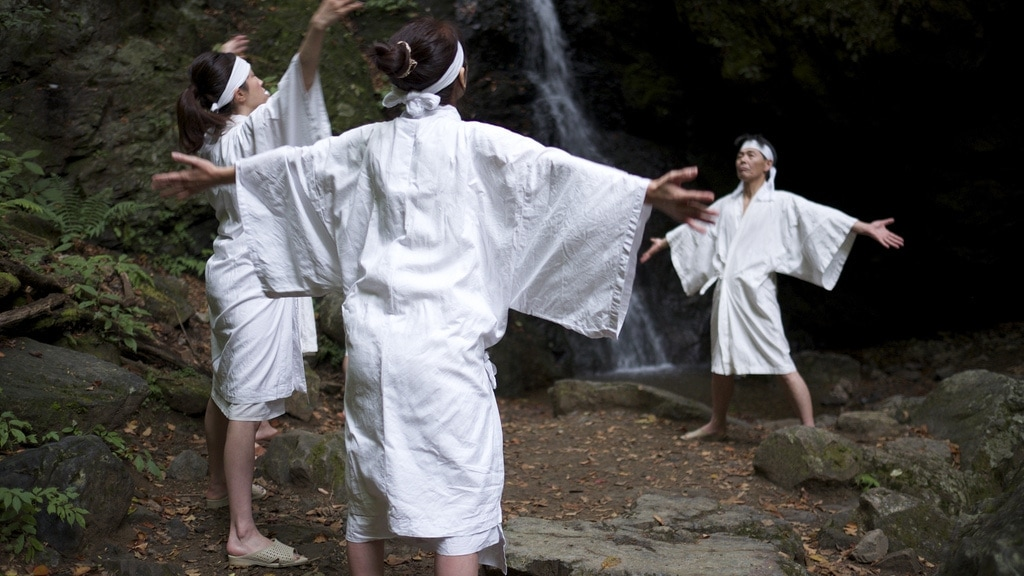 Takigyo Waterfall Meditation