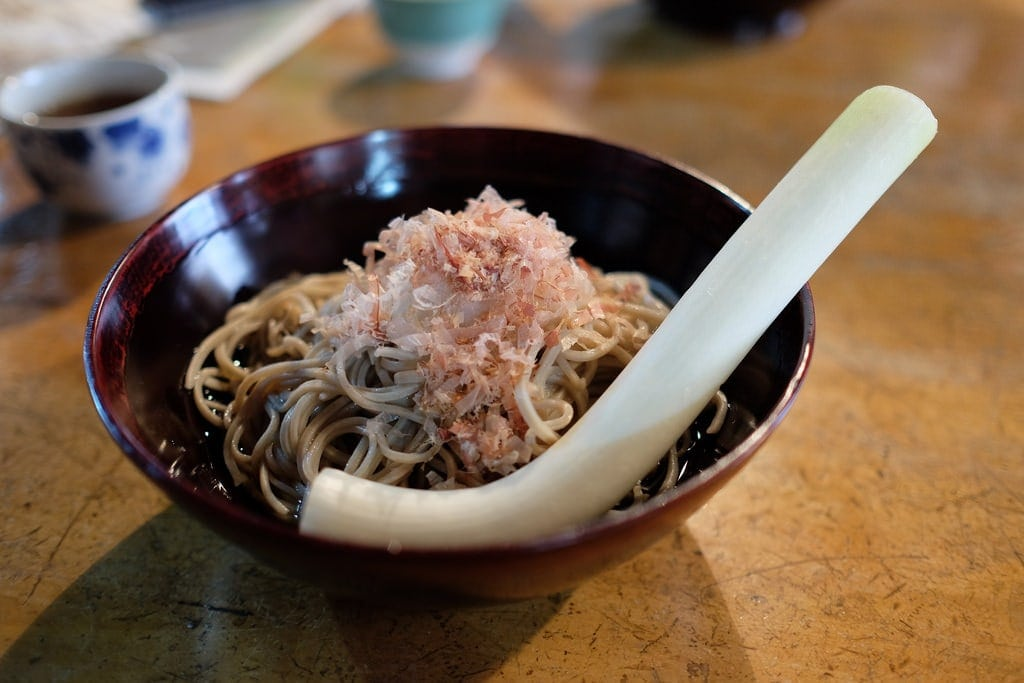 Negi (Green Onion) Soba