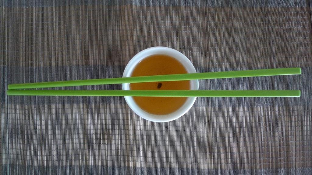 Green Tea & Chopsticks