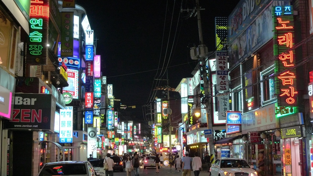 Seoul Streets: Neon Fantasy in Gangnam, Sincheon and