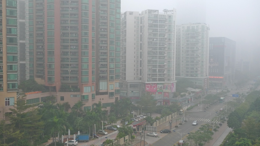 Smoky Shenzhen
