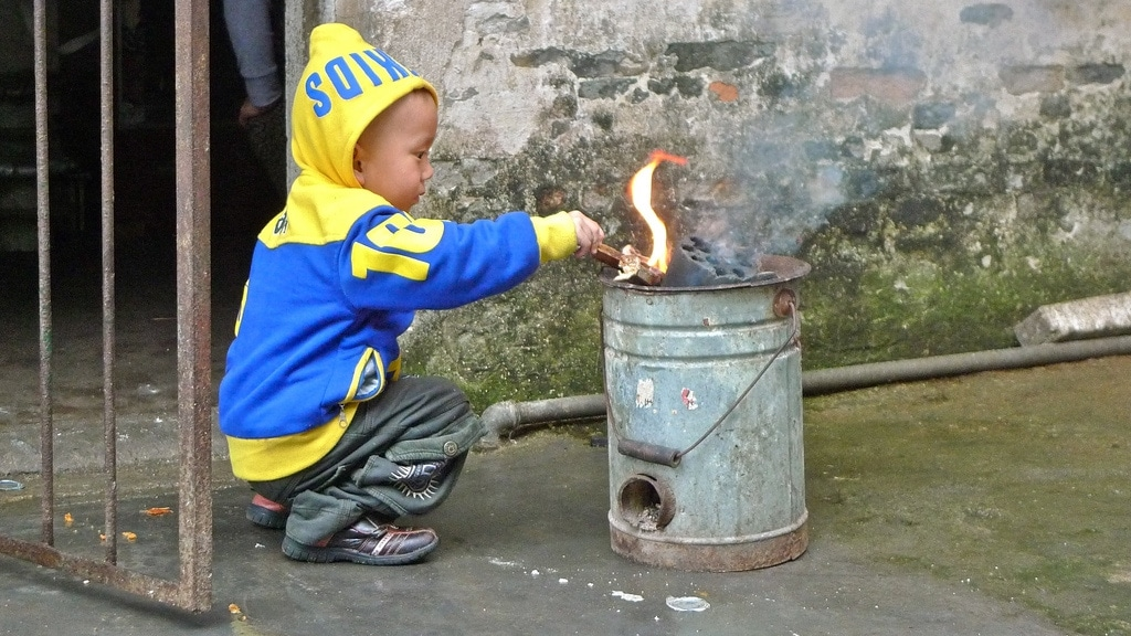 Young Pyromaniac