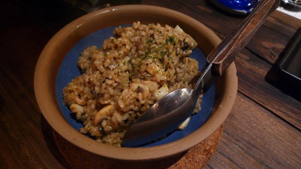 Fried Rice with Mushroom & Truffle