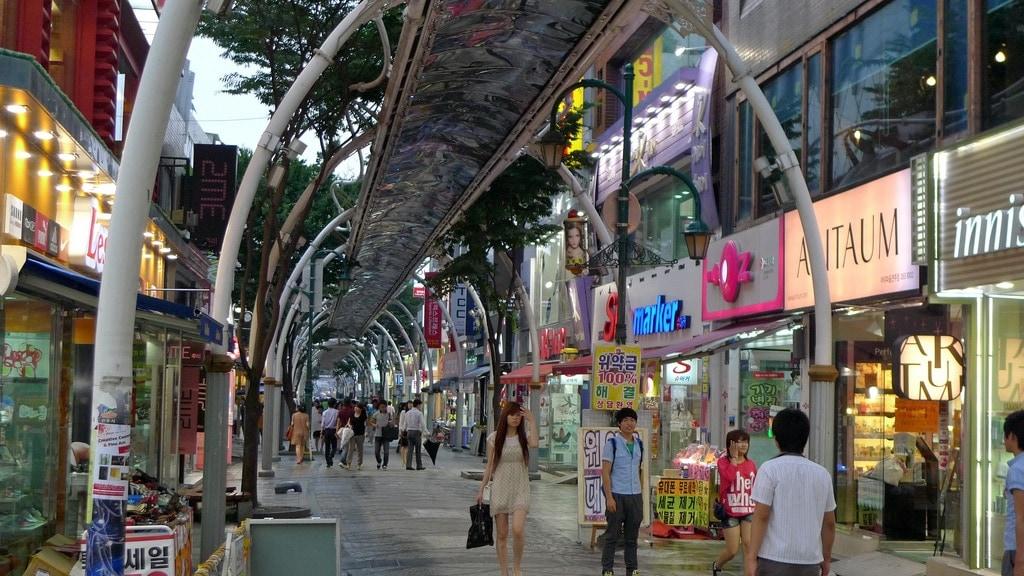 Jeonju Shopping District