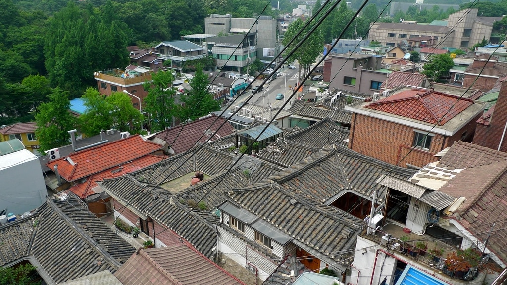 Samcheong-dong Rooftoops