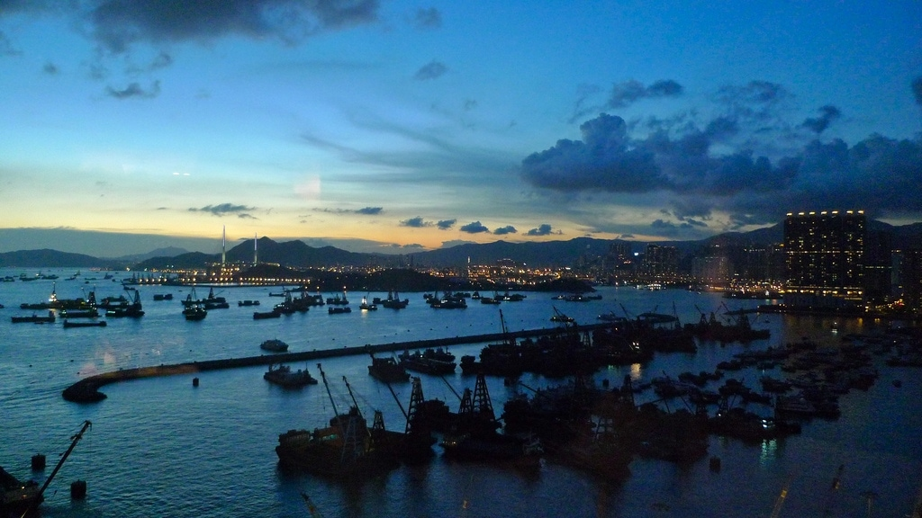 HK Harbour Sunset