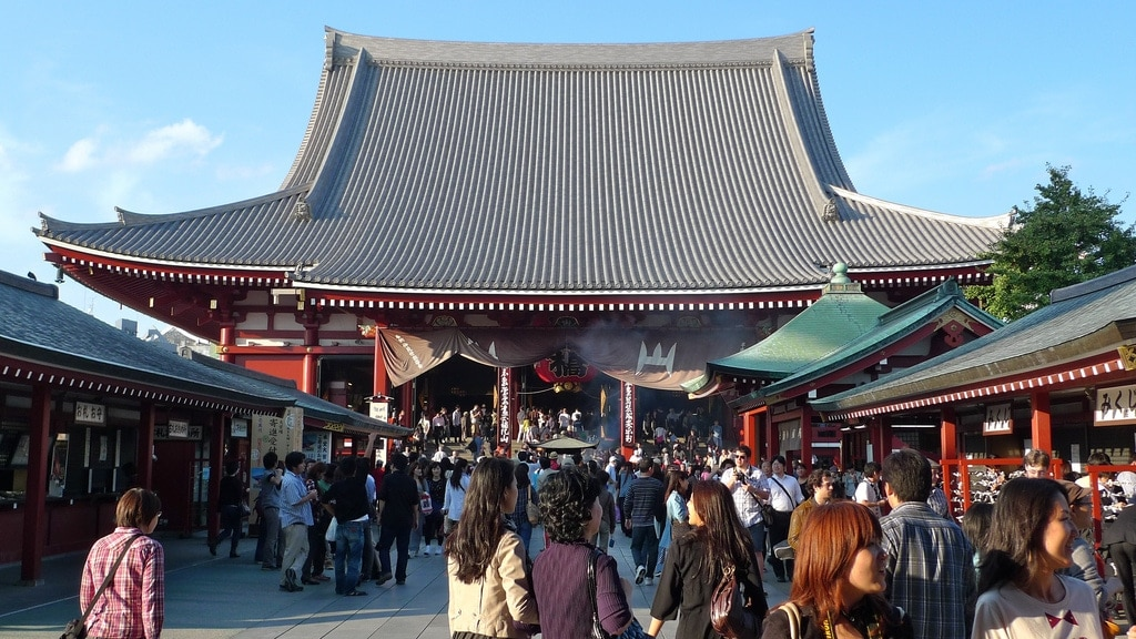 Inside Asakusa Temple
