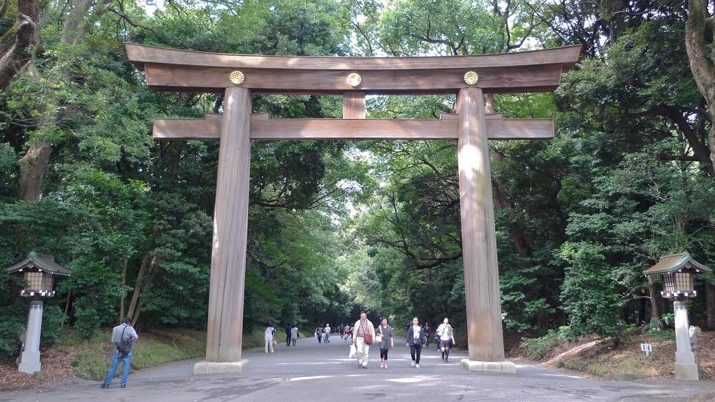 Torri Wooden Gate