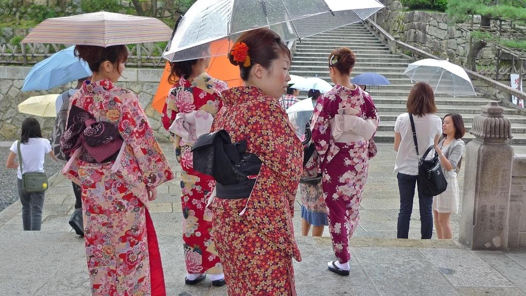 Kimono Umbrellas
