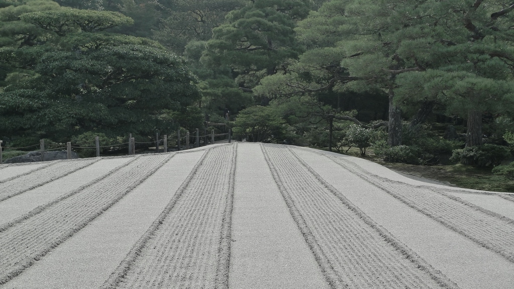 Perfectly Arranged Gravel