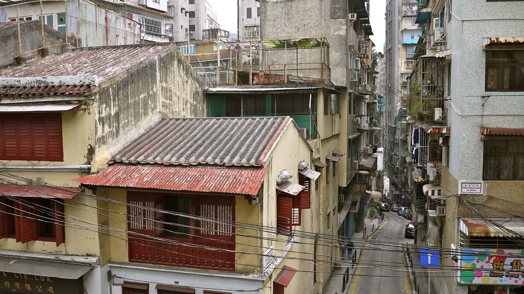 Macanese Back Streets