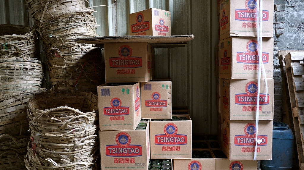 Tsingtao Beer Boxes