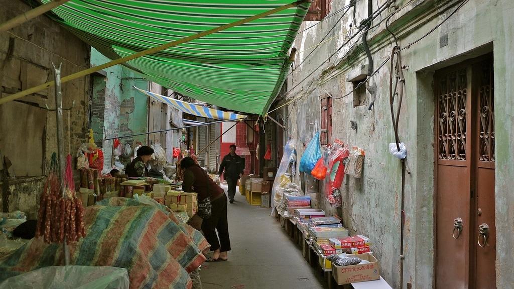 Back-street Stalls