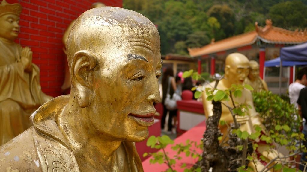 Bald Buddha