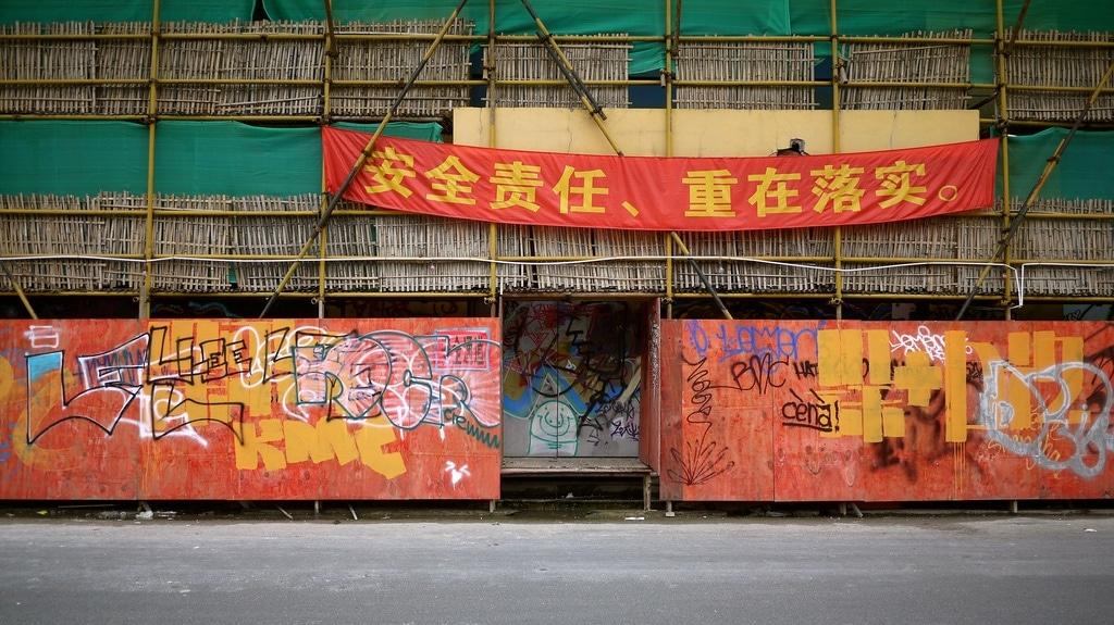 Construction Site Graffiti