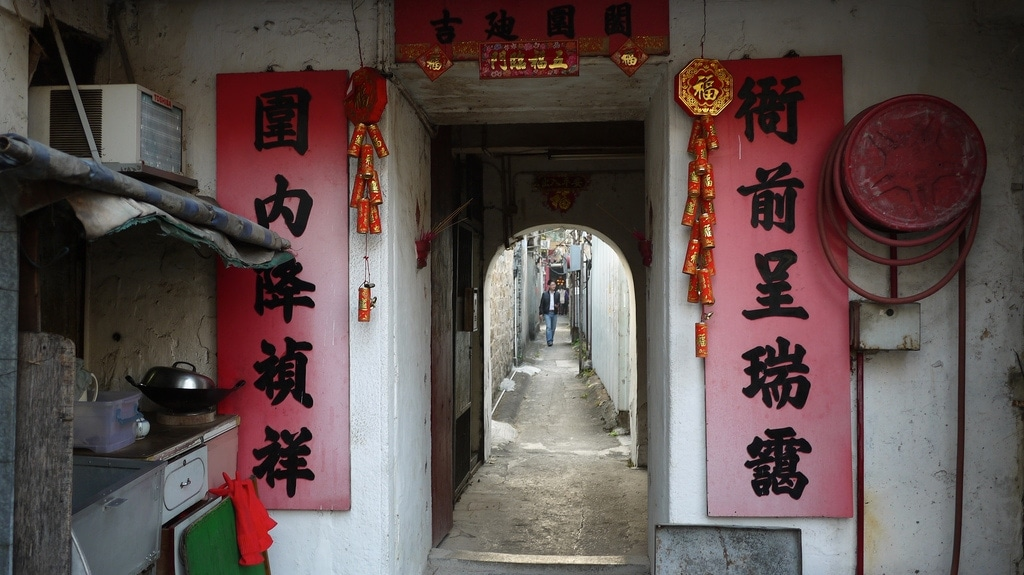 Nga Chin Wai Walled Village (衙前圍村)
