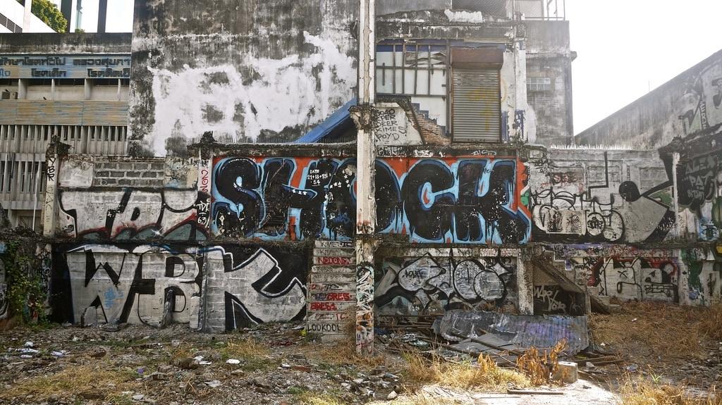 Bangkok Graffiti
