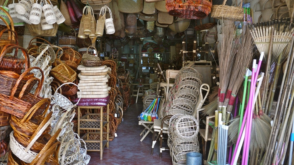 Wicker Shop