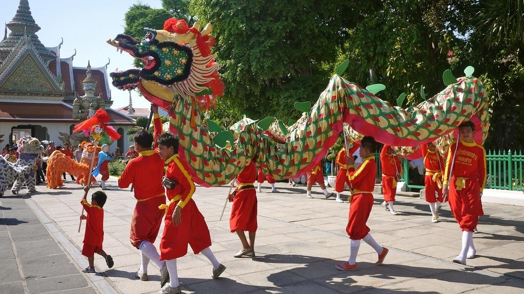 Wat Arun Dragon Dance