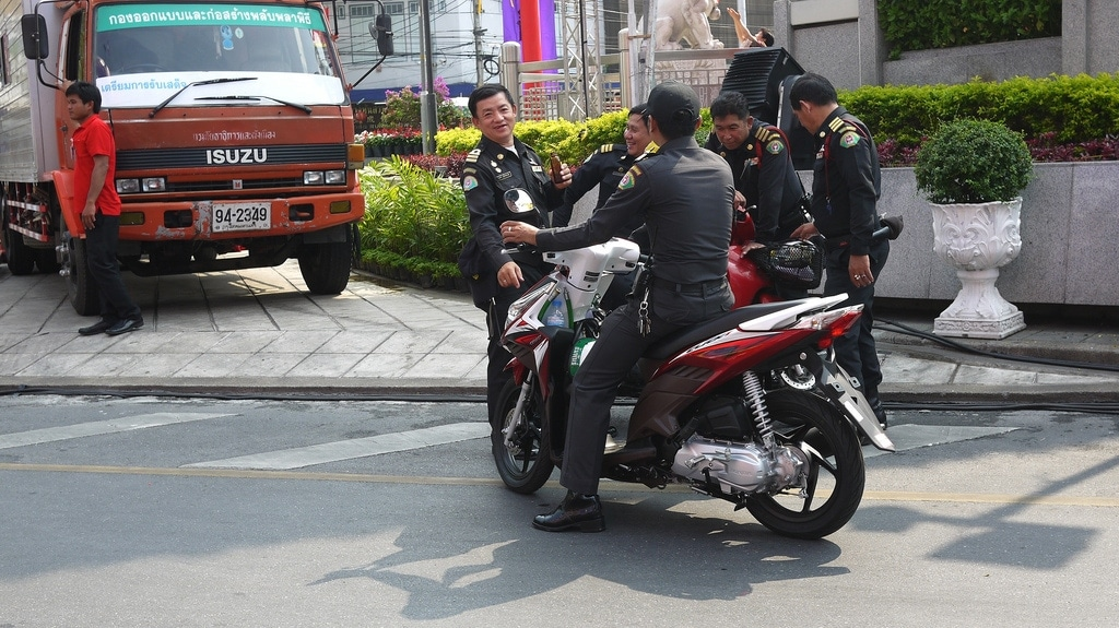 Bangkok Police Break