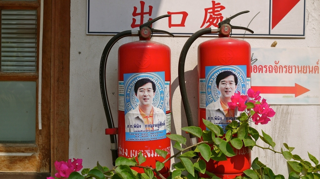 Celebrity Fire Extinguisher