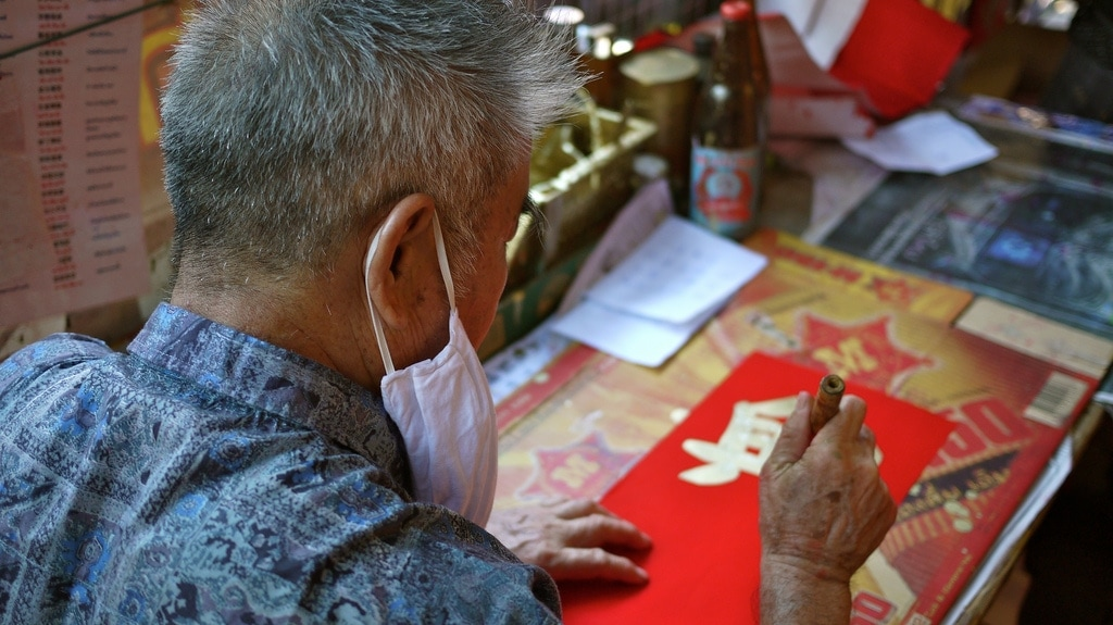 Chinatown CNY Caligrapher
