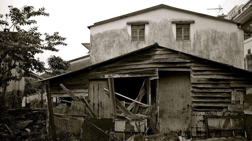 Decaying Buildings in Sha Tau Kok