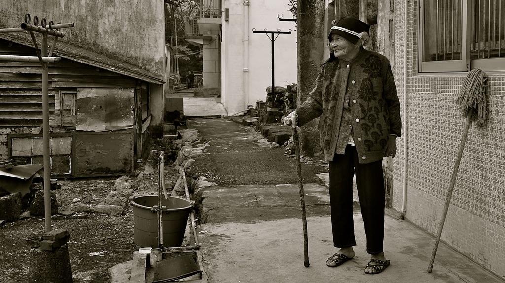 Old Sha Tau Kok Resident