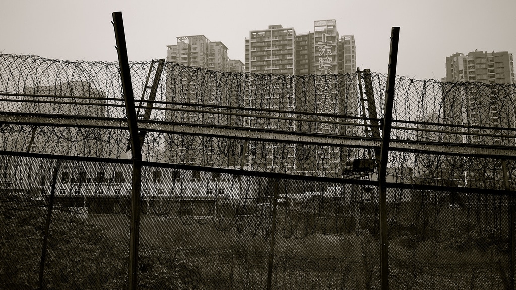 Hong Kong - Shenzhen Border Fence