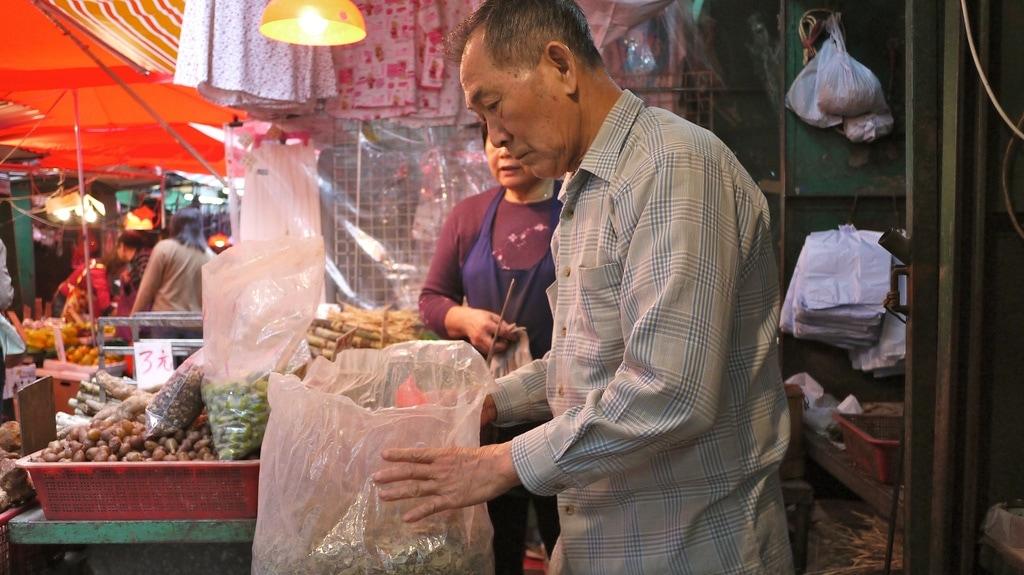 Market Stall Man