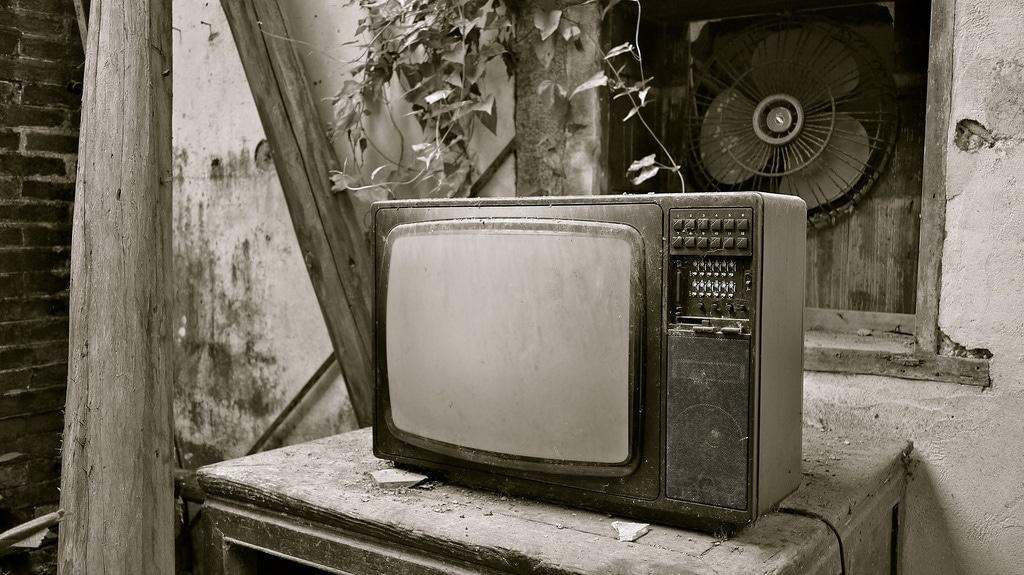 Abandoned TV Set