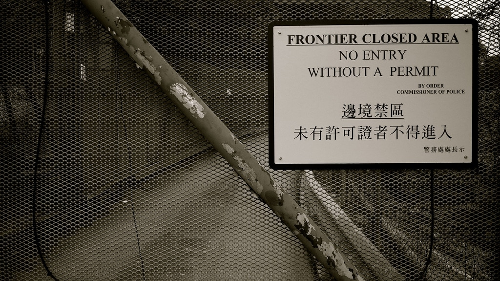 Frontier Closed Area