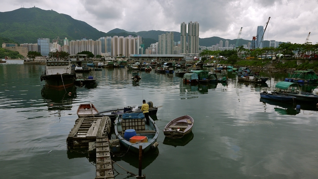 Lei Yue Mun Fishing Harbour