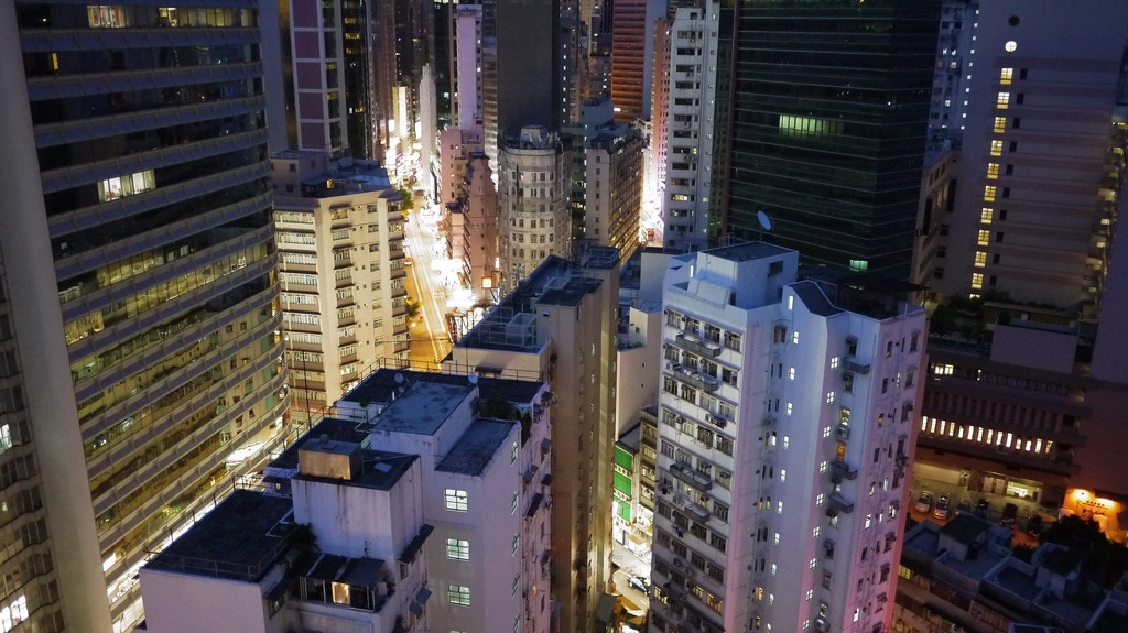 Nightfall Over Wanchai